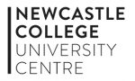 Newcastle College University Centre logo